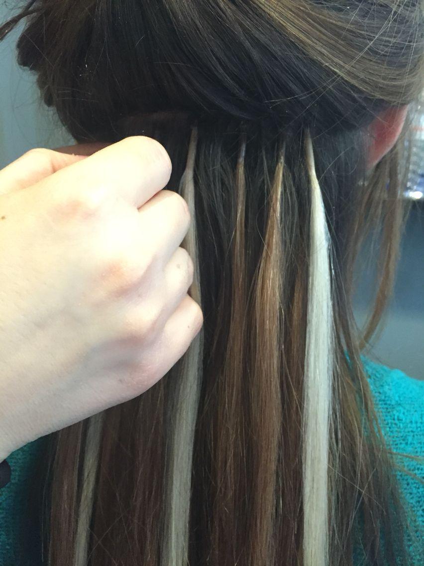 Nano Rings Extensions Treses E Hair Remy Hair Wefthair