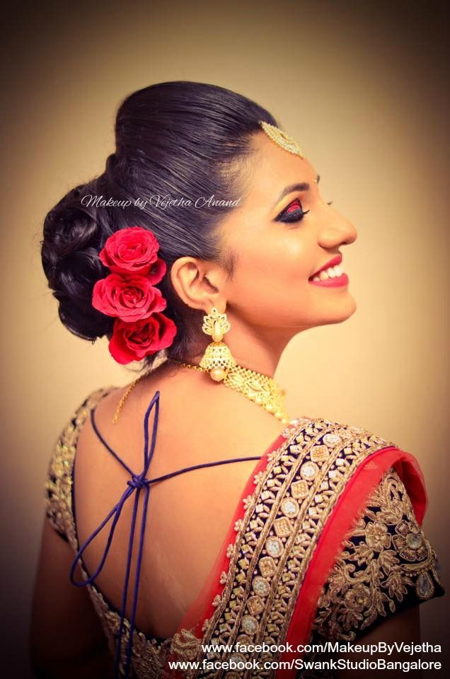 Pin By Swank Studio On Indian Bridal Hairstyles Pinterest Hair
