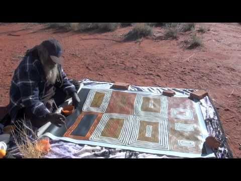 Aboriginal Art Ronnie Tjampitjinpa -1513