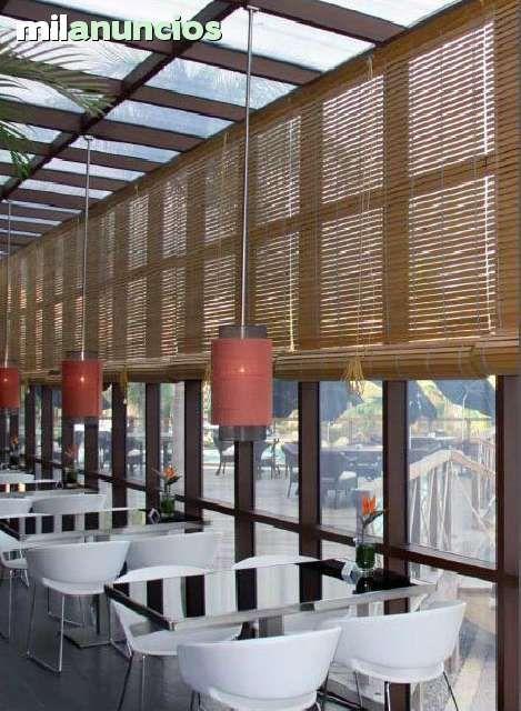 Mil anuncios com anuncios de persianas alicantinas persianas alicantinas terrazas - Persianas bambu exterior ...