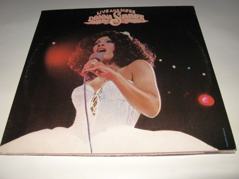 Donna Summer ‎- Live And More , 2x Lps vg