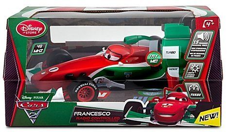 Cars 2 Remote Controlled Francesco W Lights Sounds By Disney