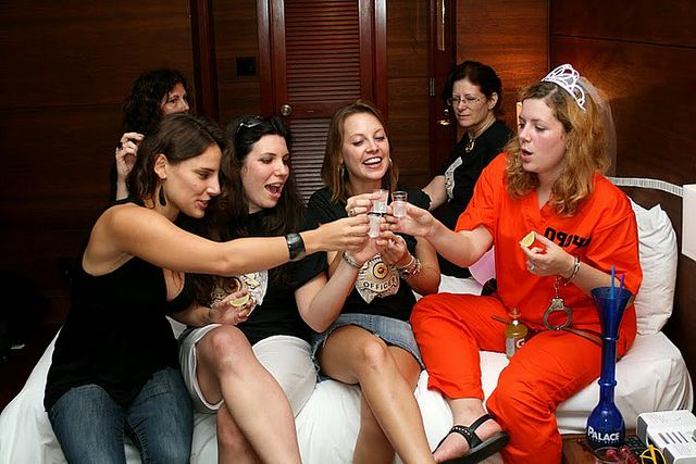 Bachelorette Party C 2010 In South Beach Fl
