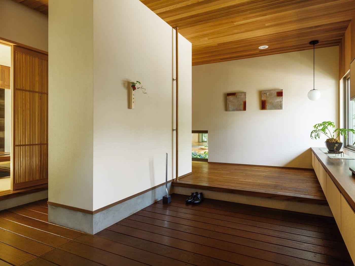 和モダン 玄関 イメージ | 和モダン 玄関, 玄関, 積水ハウス