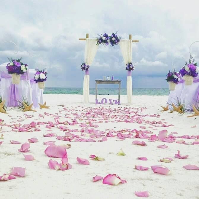 Florida Barefoot Beach Wedding Package