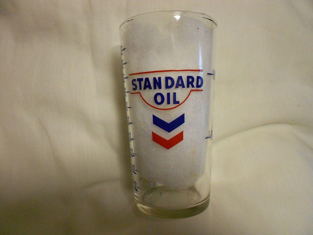 Standard Oil - Measuring Glass #StandardOil