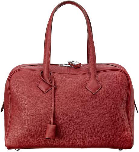 Hermes Victoria Bag