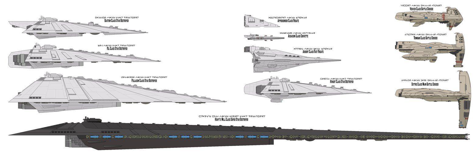Legacy era capital ships by MarcusStarkiller.deviantart.com on @DeviantArt