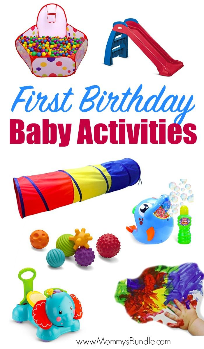 The Best Party Games for Baby's First Birthday