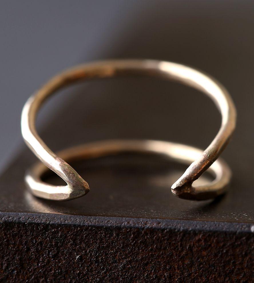 Arrow Gold Ring