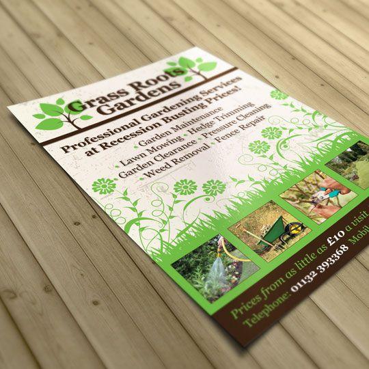 Garden Service Flyer - Cerca Con Google | Garden Design