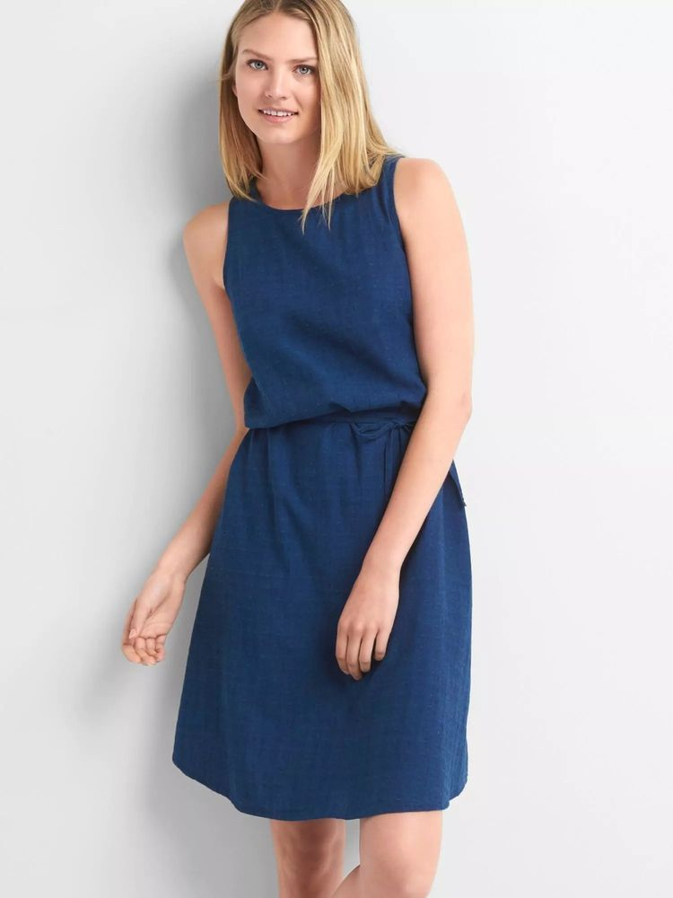 b72c2143f168  DenimDress NWT Gap Denim dobby sleeveless dress Dark Indigo SIZE SP S P   717685 v715 - Denim Dress  39.99 End Date  Saturday Jan-26-2019 20 03 49  PST Buy ...