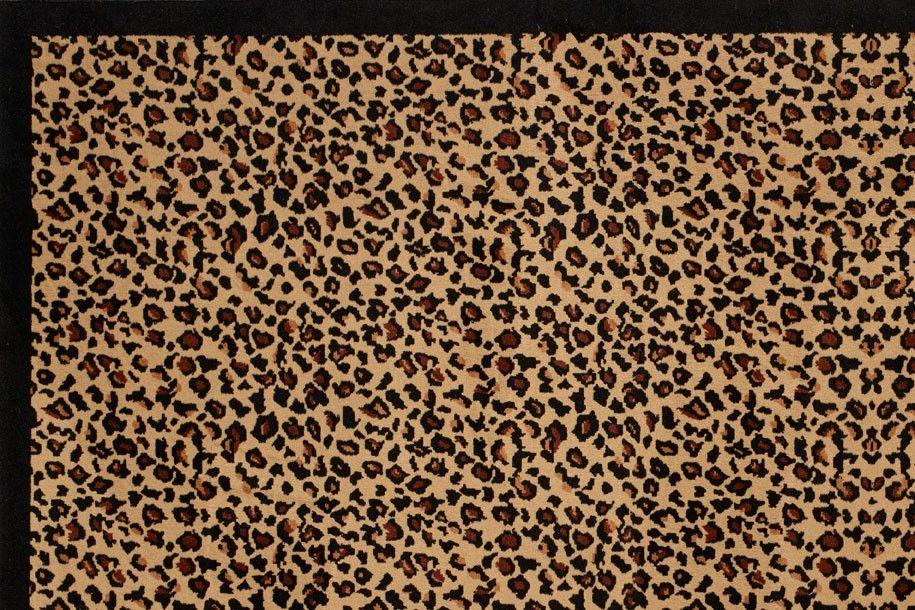 leopard tapis design tapis leopard
