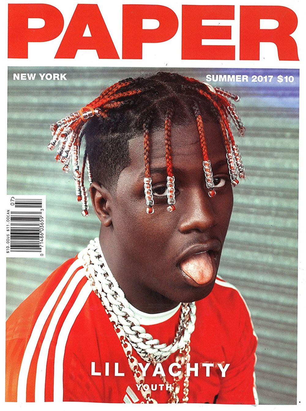 Paper Magazine Subscription Paper Magazine Cover Magazine Front Cover Lil Yachty