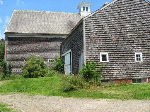 New England Farm Building