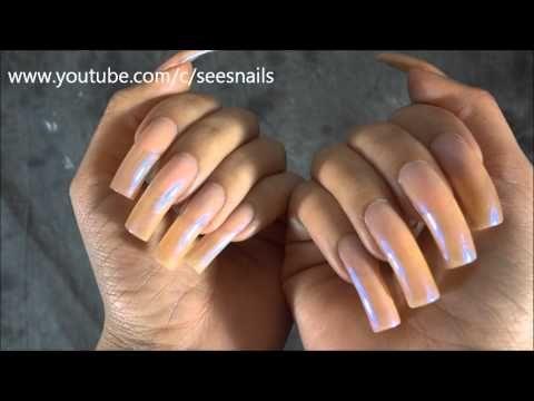 Showing My Long Natural Nails Long Natural Nails Natural Nails Nails