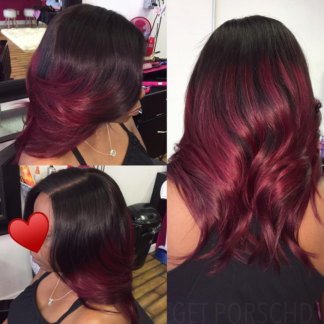 awesome burgundy shades for all type of hairs hair pinterest
