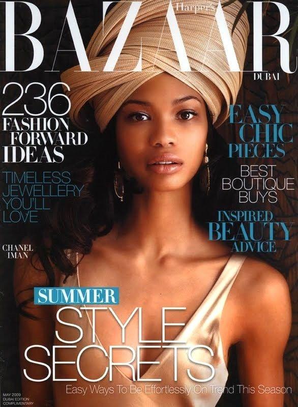Chanel Iman, Harper's Bazaar