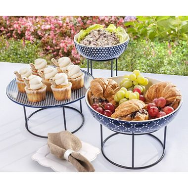 Daily Chef 6-piece Elevated Serving Set -  $2.97 Shipping