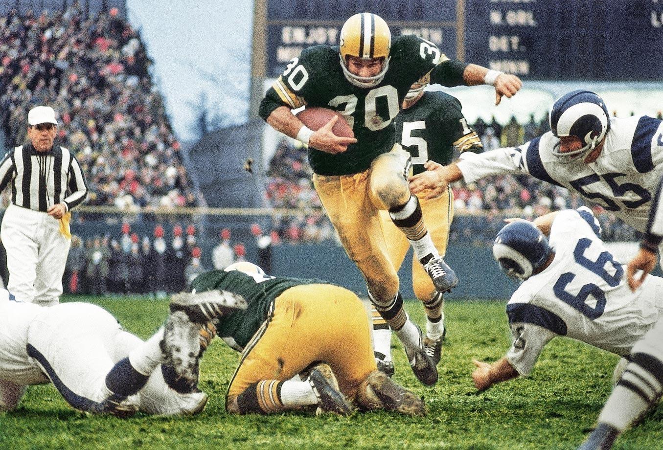 Green Bay Packers Running Back Chuck Mercein Football