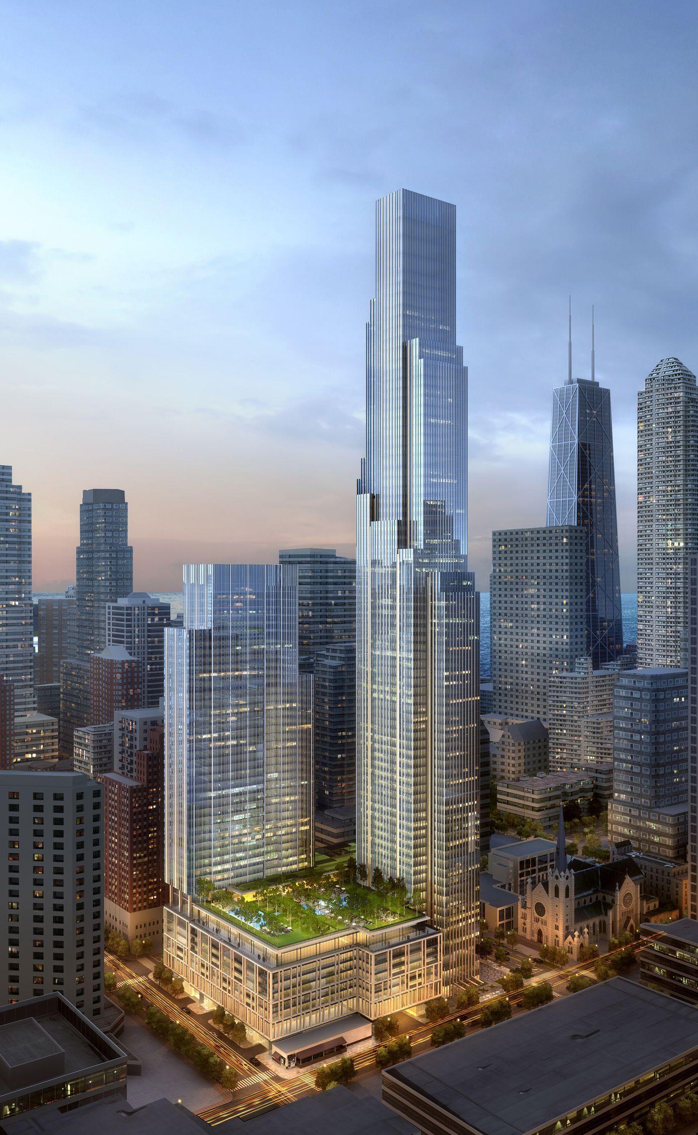 Arets skyskrapa star i chicago