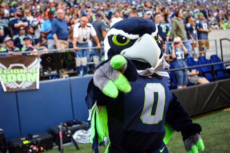 Girl Mascot Costume Wallpaper Seahawks Add New Mascot Boom Give Blitz Fresh Look