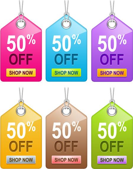 Sale Tags templates PSD PSD Pinterest Tag templates and Template - sale tag template