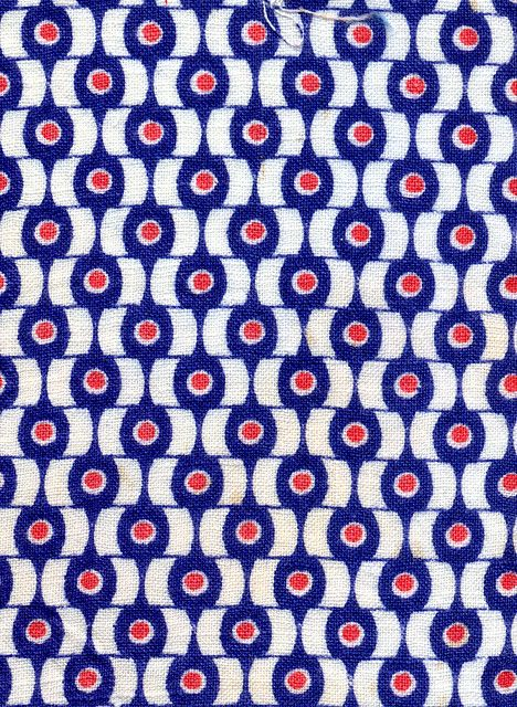 Red White And Blue Print Patterns Textile Patterns Printing
