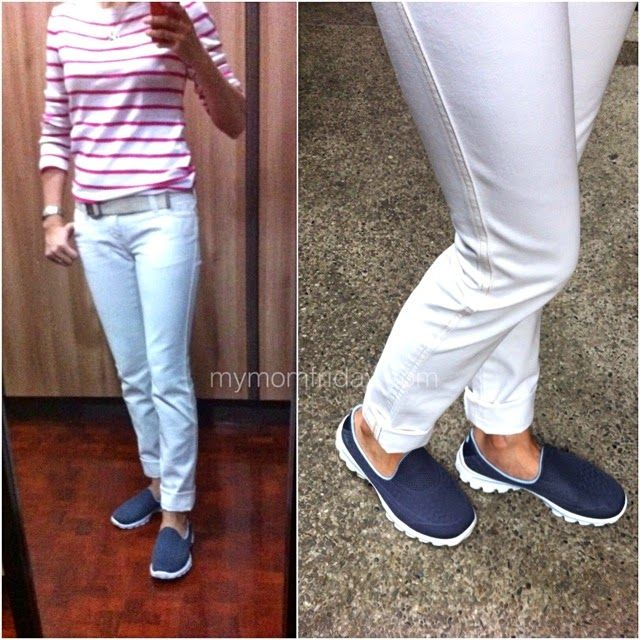skechers go walk outfits