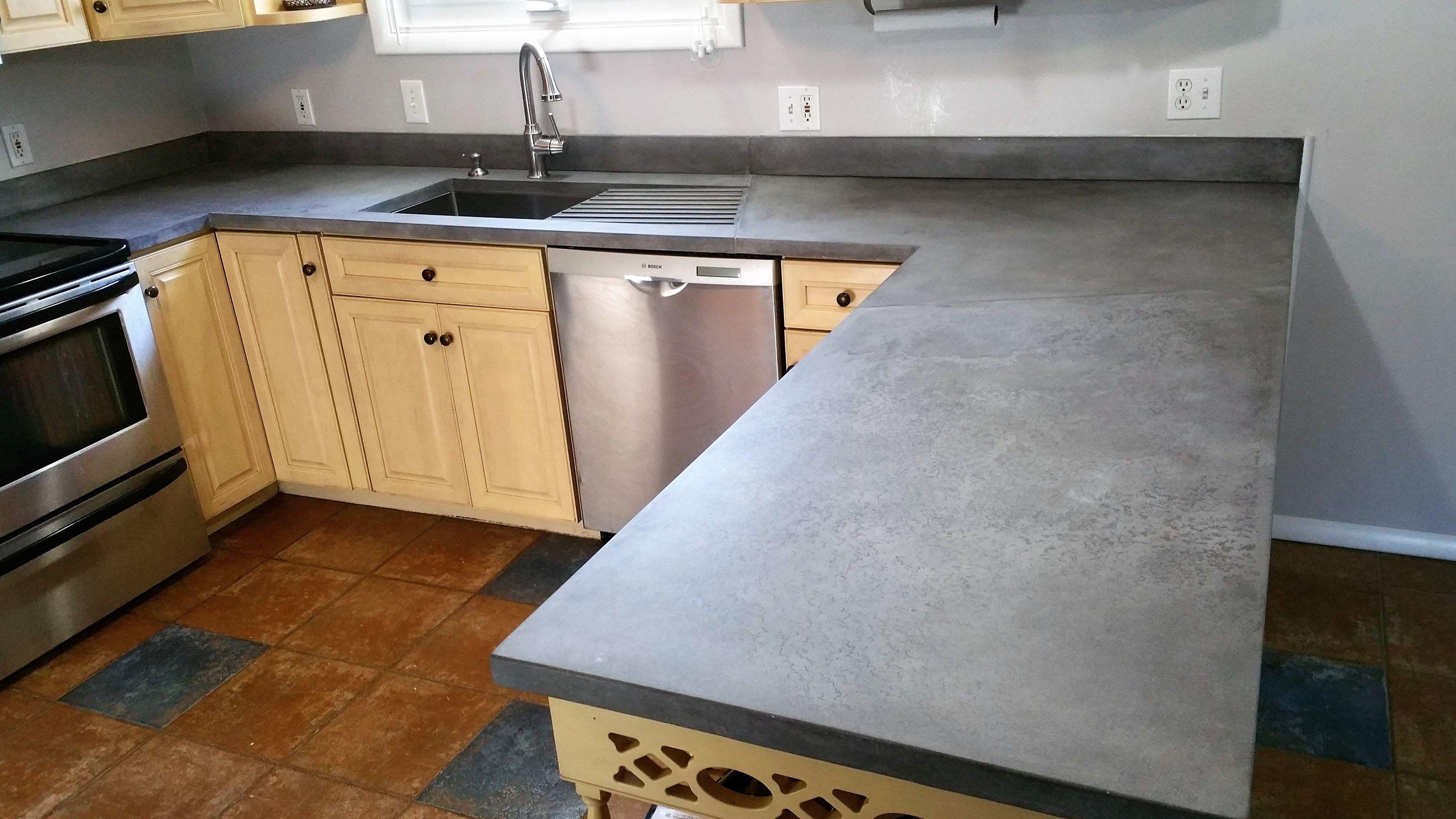 Portfolio Of Indoor And Outdoor Concrete Countertops Rockmill