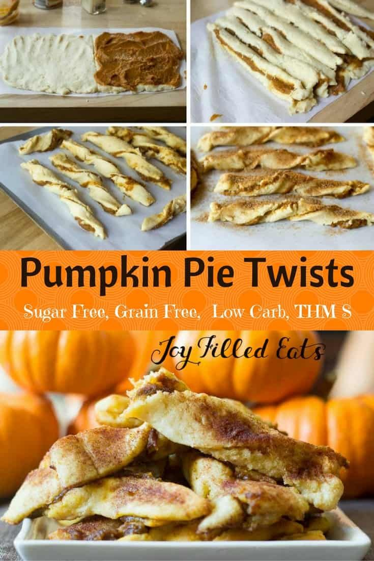 My Pumpkin Pie Twists Are Keto Low Carb Grain Gluten Sugar Free