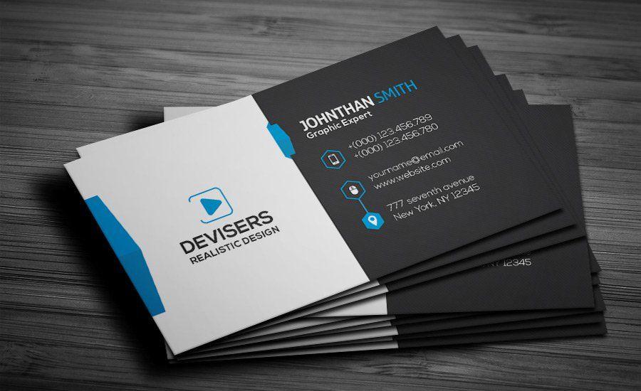 Free Business Card Psd  Ahamed Murshid    Free