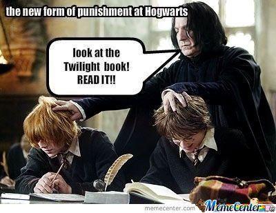 Punishment At Hogwarts Harry Potter Scene Harry Potter Funny Pictures Harry Potter Vs Twilight