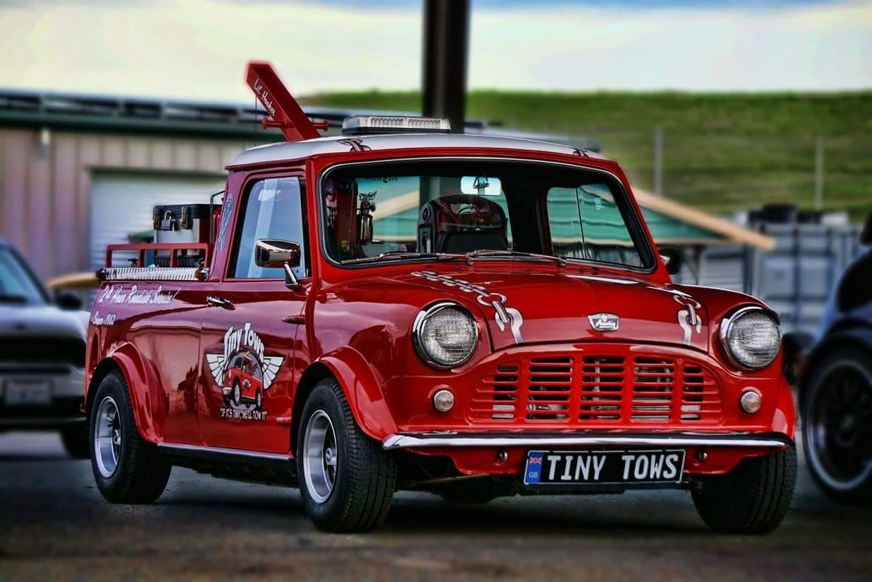 Tiny Tow Mini Mini moris, Mini van, Classic mini
