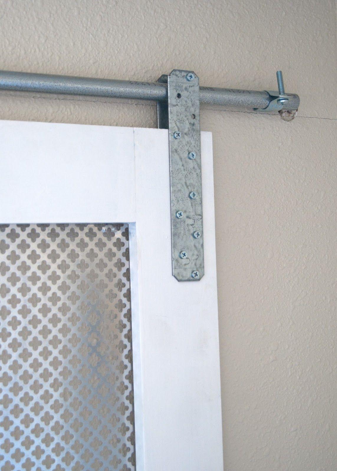 Project Kid's Bathroom DIY Barn Door Window Cover for the ...