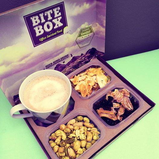 Kurze Kaffee -und Snackpause? Mit unserer BiteBox ist das gar kein Problem.