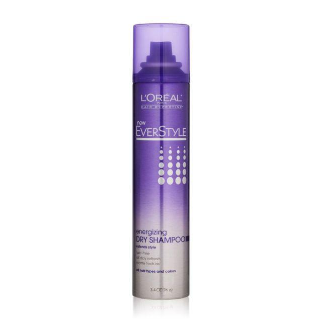 L Oreal Paris Everstyle Texture Series Energizing Dry Shampoo Dry Shampoo Shampoo Batiste Dry Shampoo
