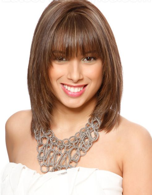 to medium length hair styles go for this haircut if you want such type of style 7333