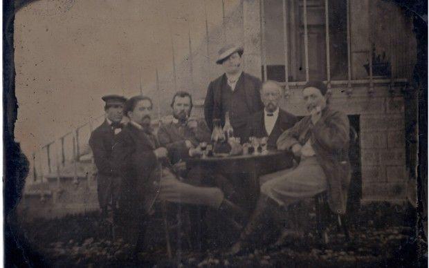 ritratto fotografico vincent van gogh paul gauguin