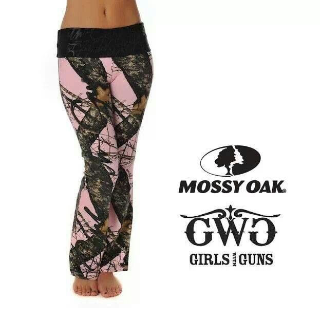 Realtree Camo Yoga Shorts Color Options By Girlswithguns22: Pink Camo Lounge Pants
