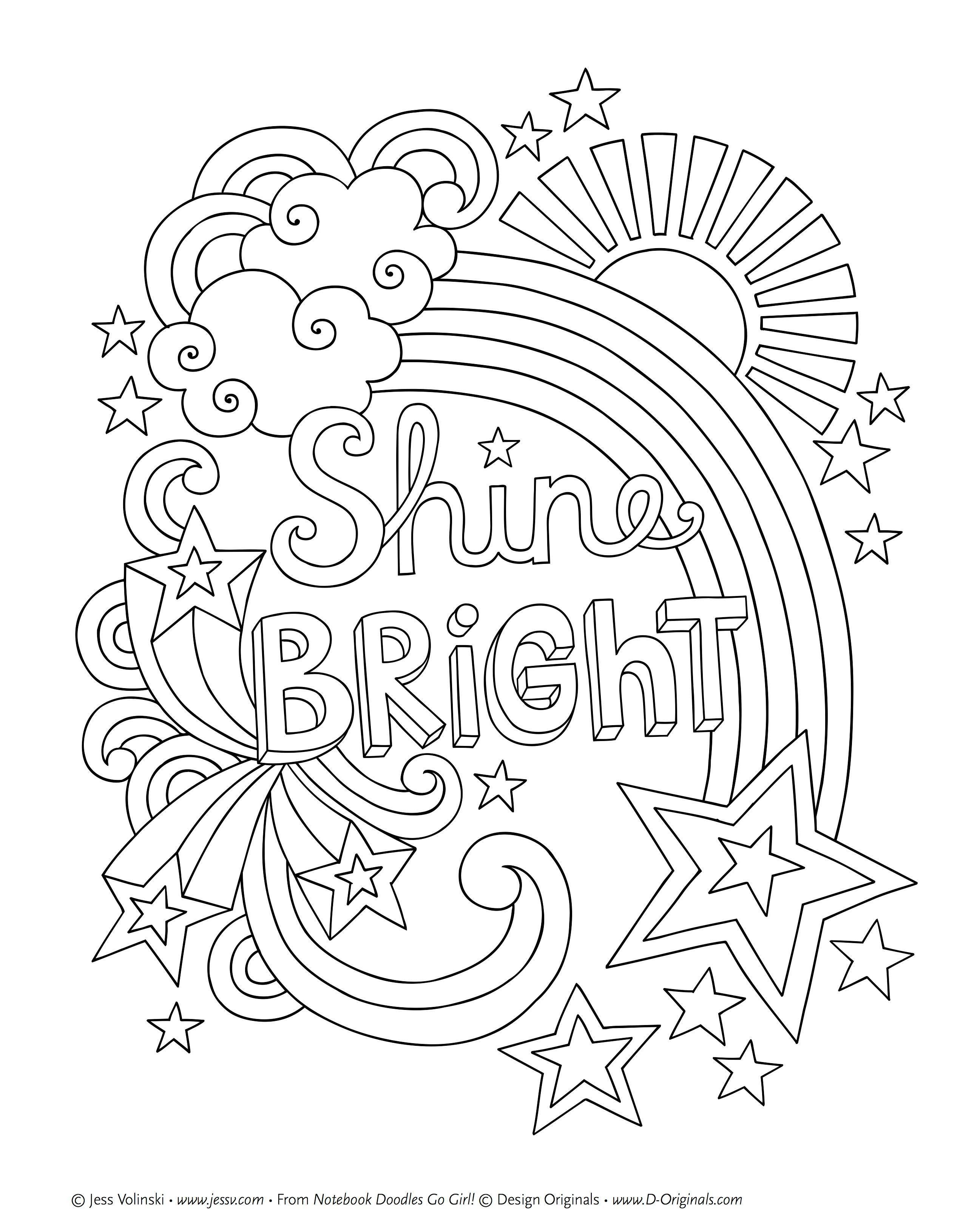 51 Printable Colouring Pages For Girls Cute Coloring Pages Coloring Book Pages Quote Coloring Pages
