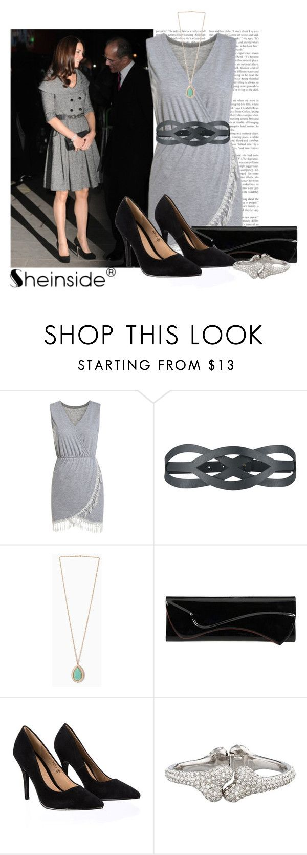 """Kate"" by a-z07 ❤ liked on Polyvore featuring Jesire, Ilundi, Christian Louboutin, Lipsy and Vivienne Westwood"
