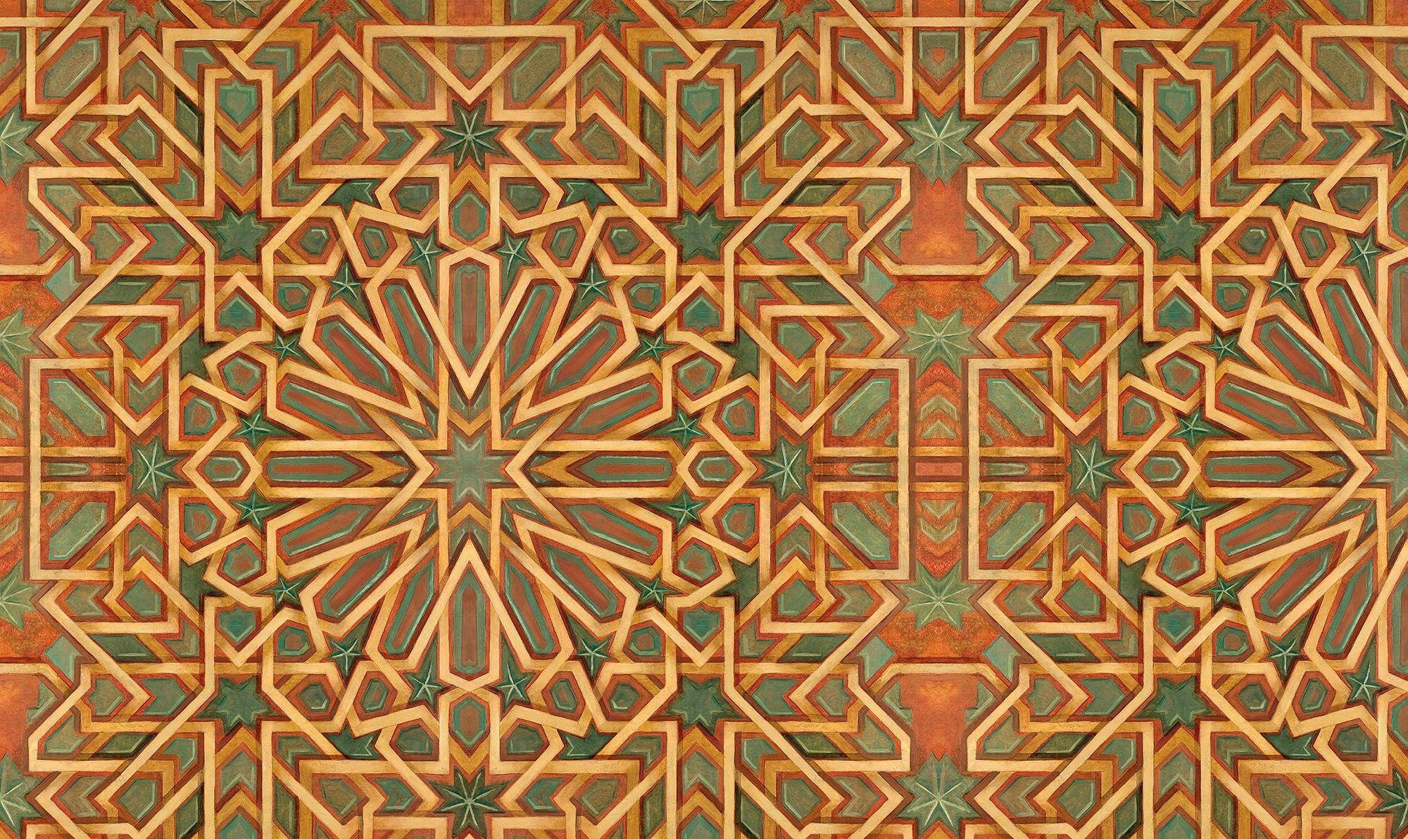 Moroccan Wallpaper By Zoe Design