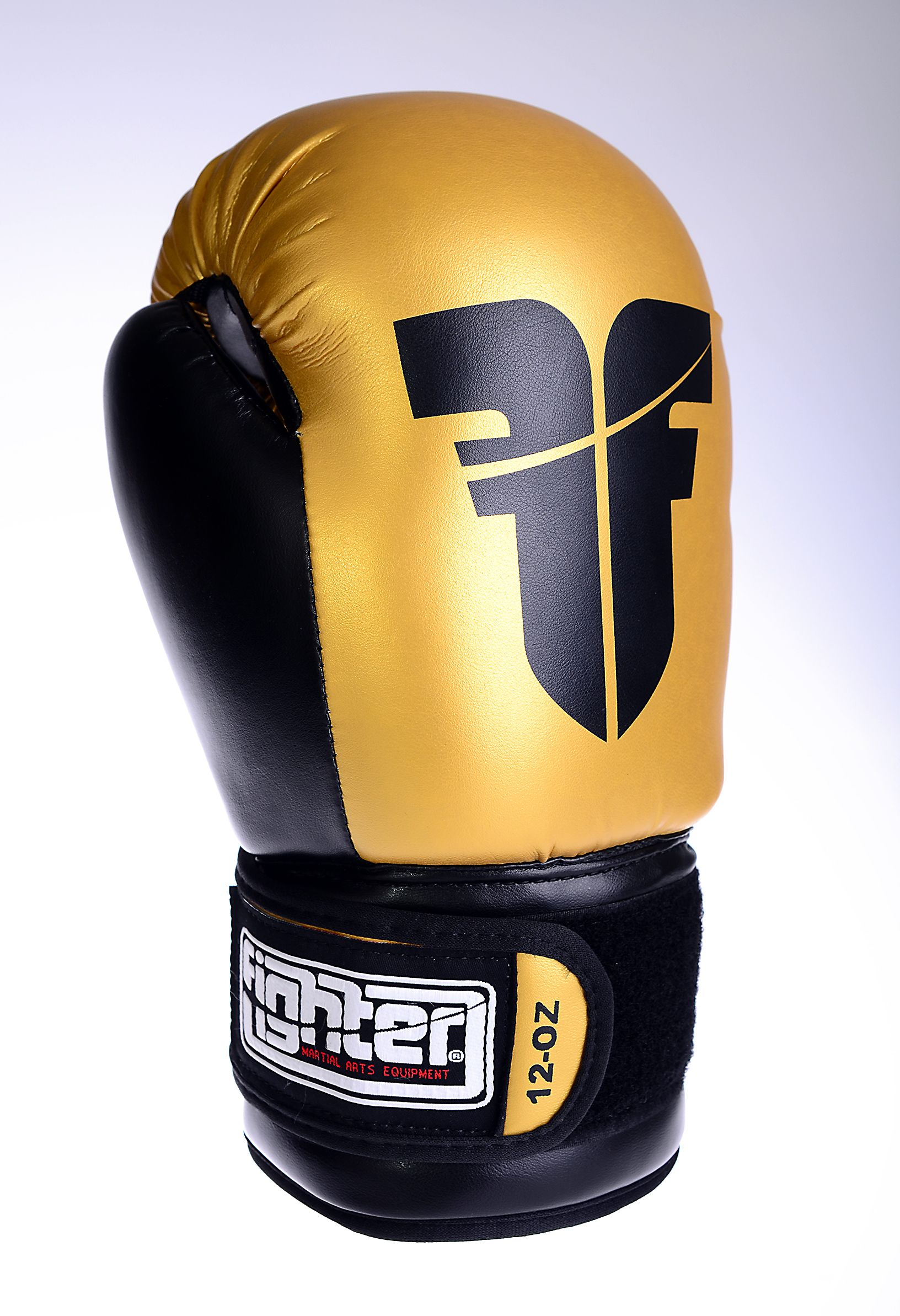 Fighter Synthetic Leather PU Basic Red/Black 612oz Boxing