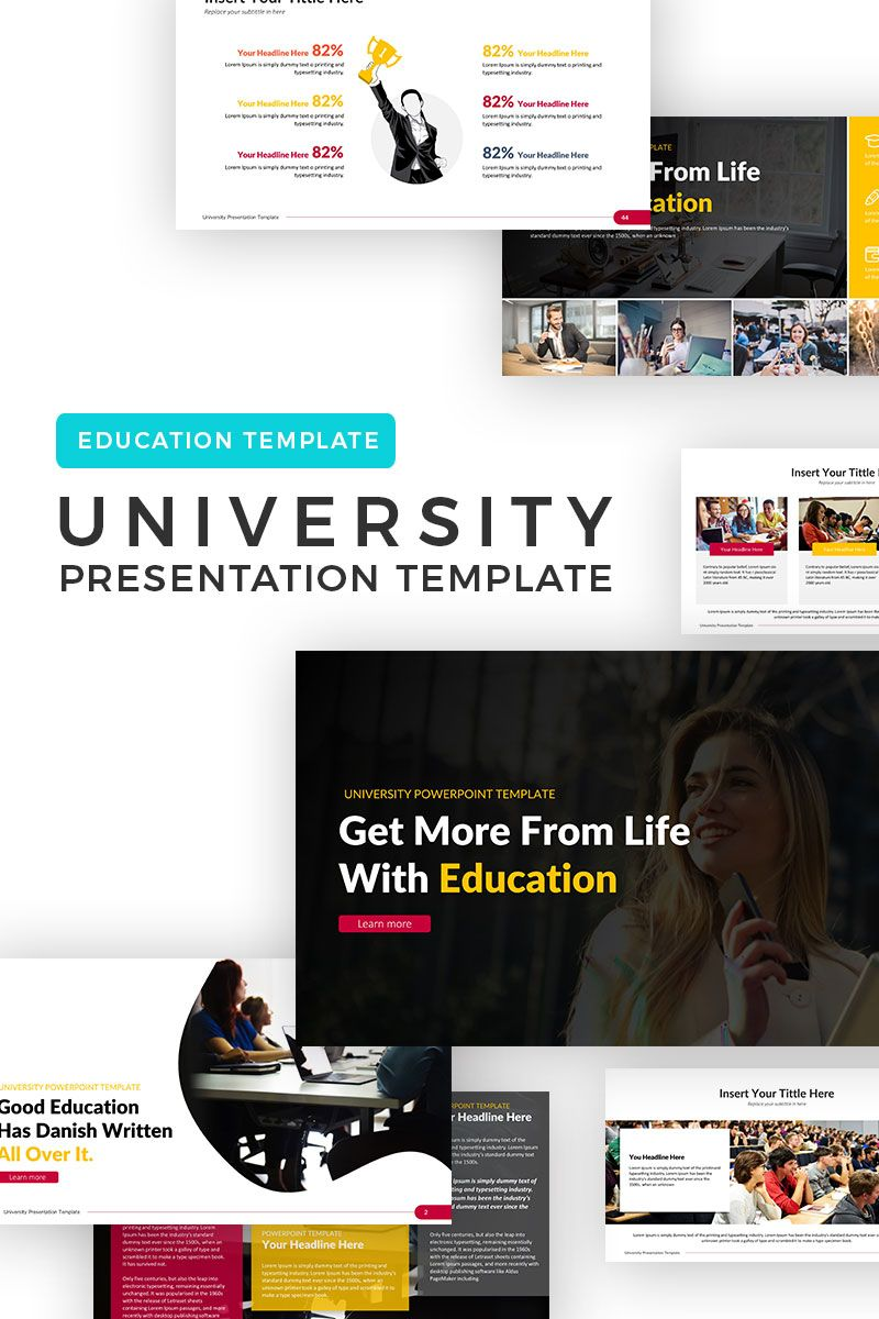 University Education Powerpoint Template Presentation Template