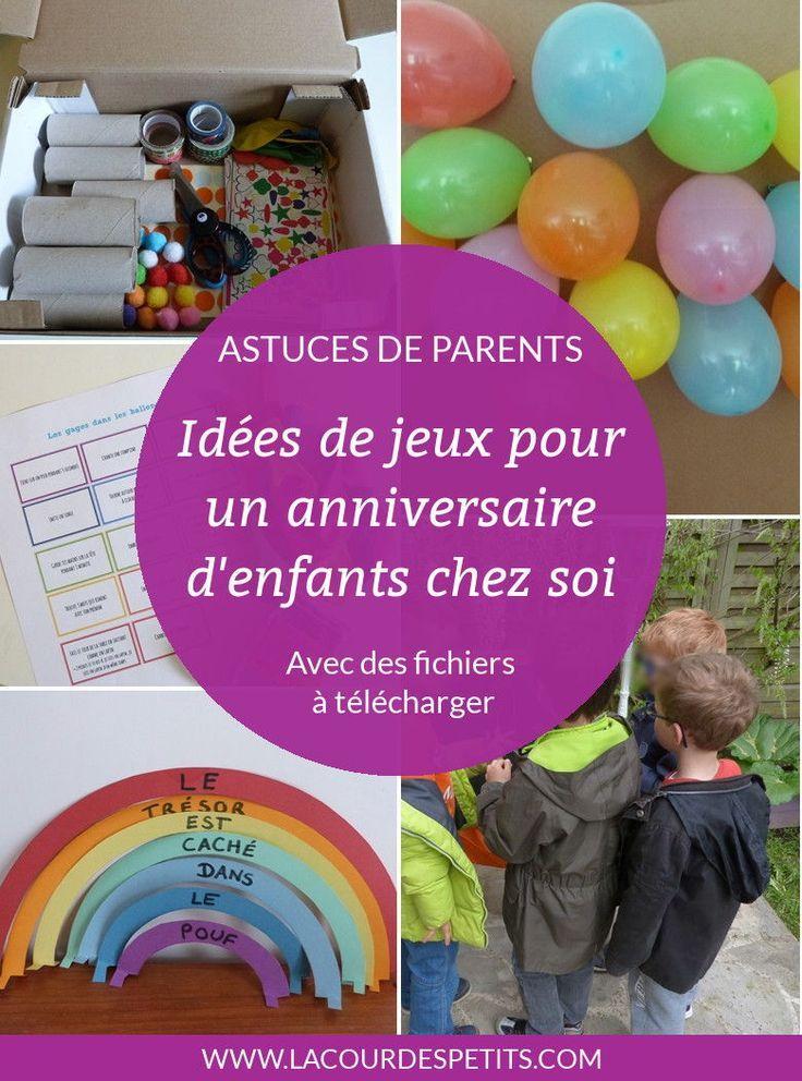 Un anniversaire tout en couleur pour ses 6 ans | Activités anniversaire 6 ans, Jeu anniversaire ...