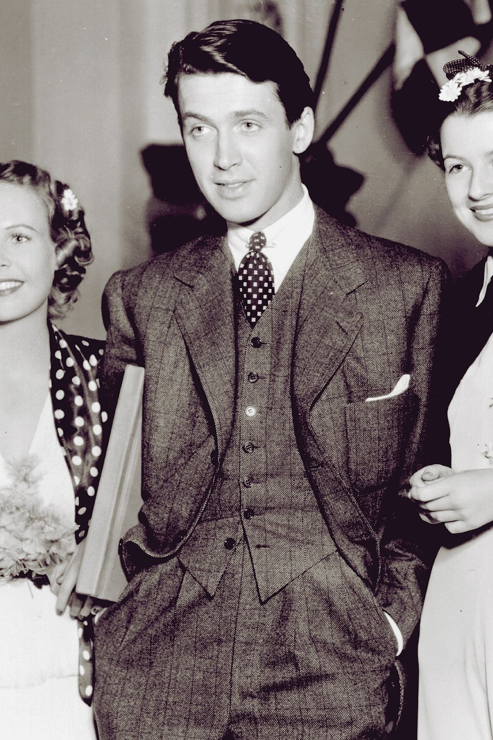 A very young Jimmy Stewart.   Wow! Incredibly Handsome!