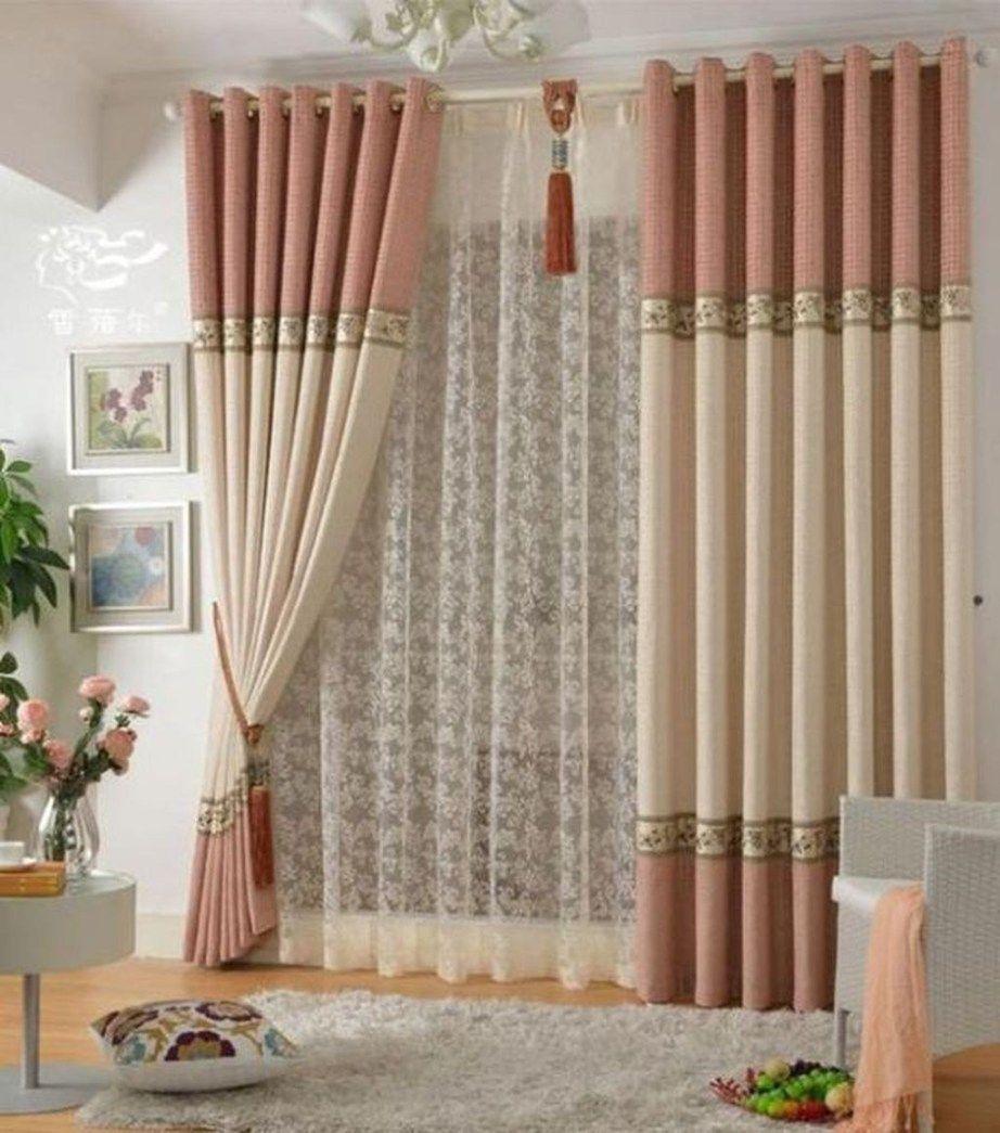 living room decor curtains