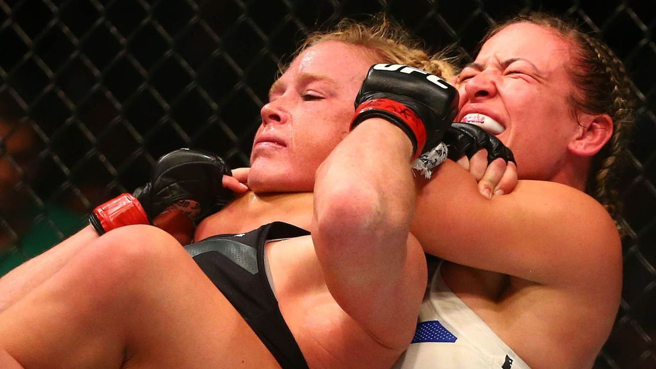 Miesha Tate Vs Holly Holm Full Fight Video Highlights From Ufc