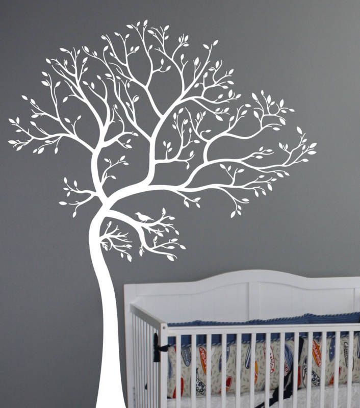 Details About Large Wall Art Decor Vinyl Tree Forest Decal Sticker